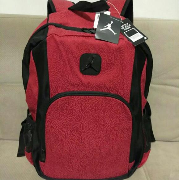 53069999e8ec Nike Jordan Backpack Laptop Storage Inside